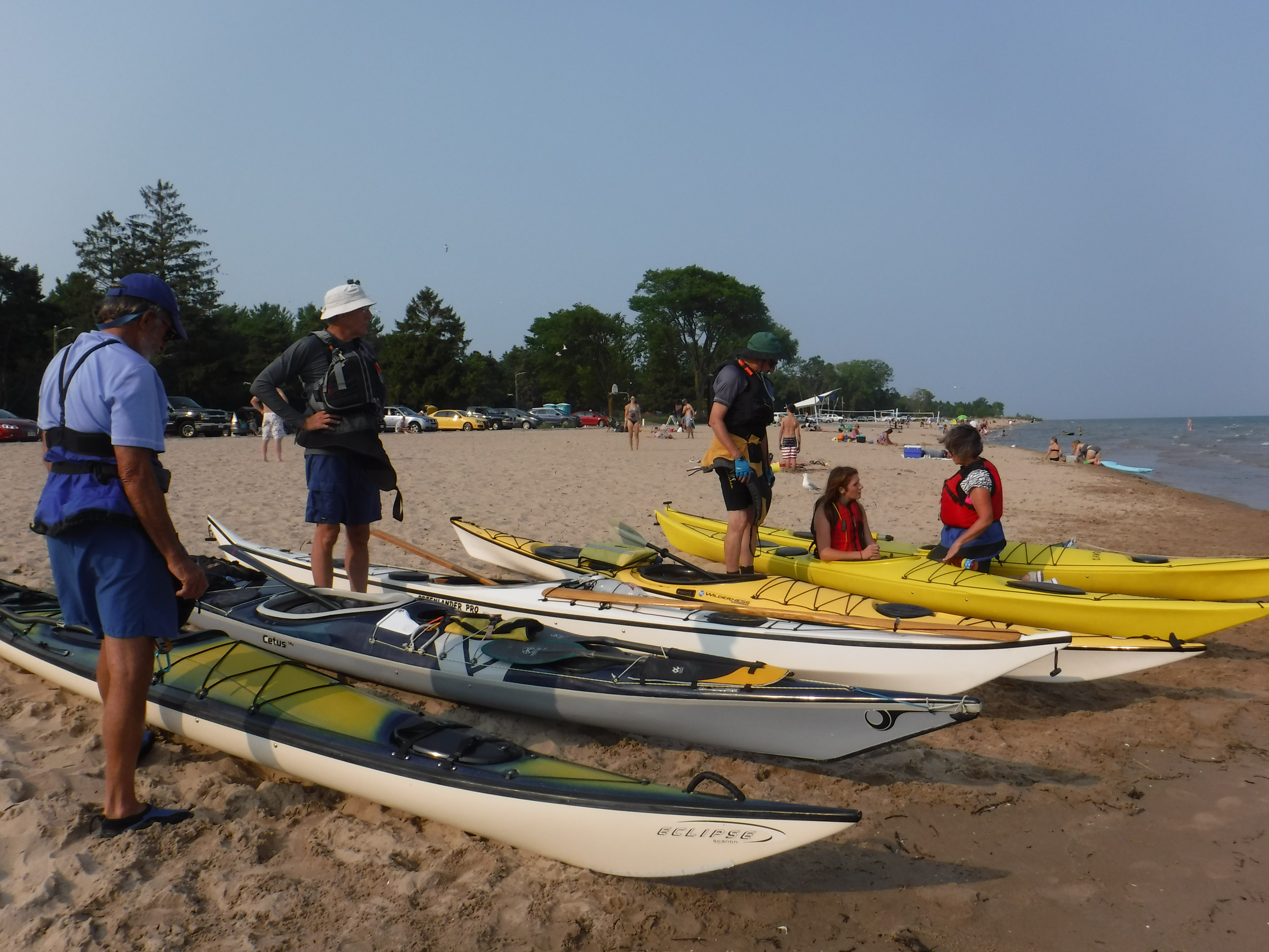 Three classifications of kayaks – and where they belong