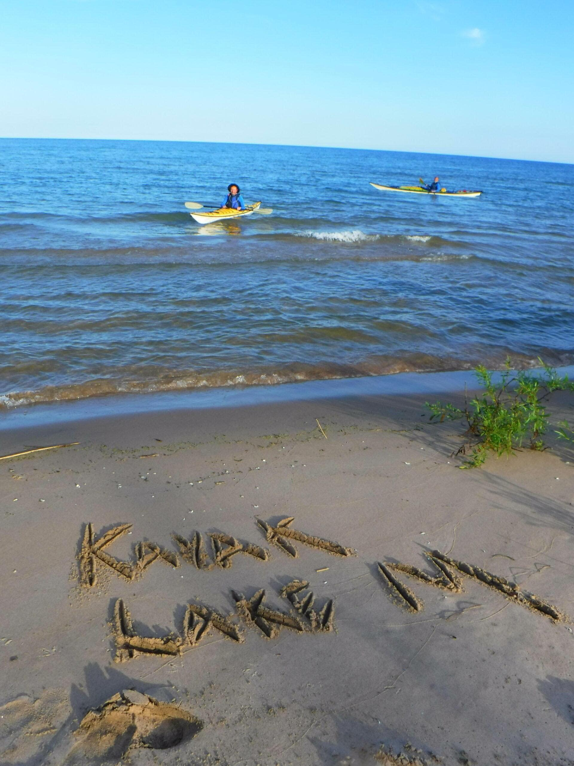 Learn how to sea kayak