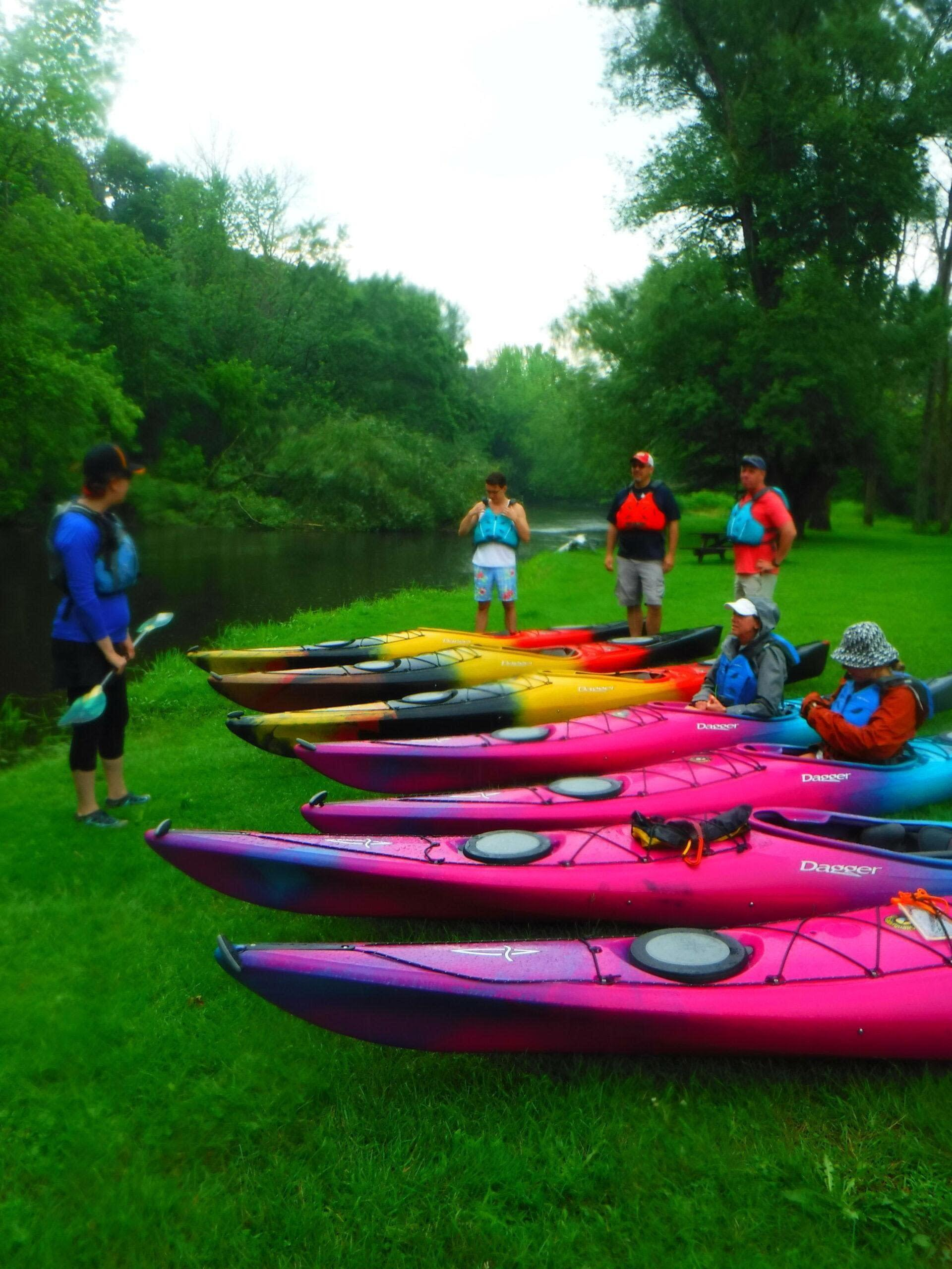 Guided Kayak Paddle Trips