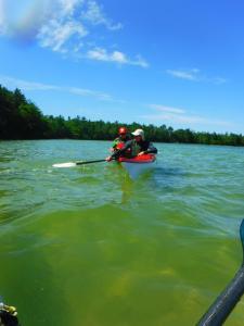 one on one kayak instruction