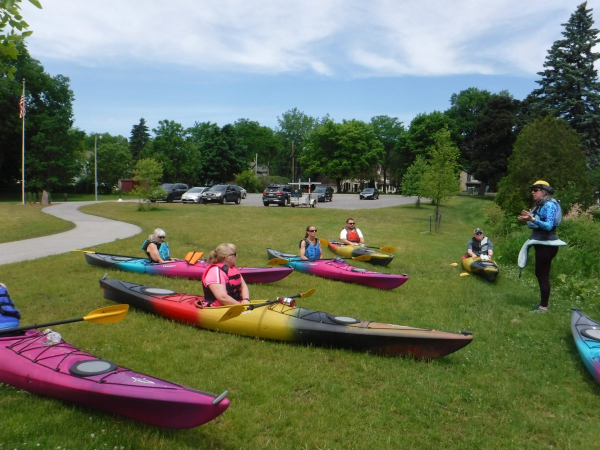 kayak class in Cedarburg
