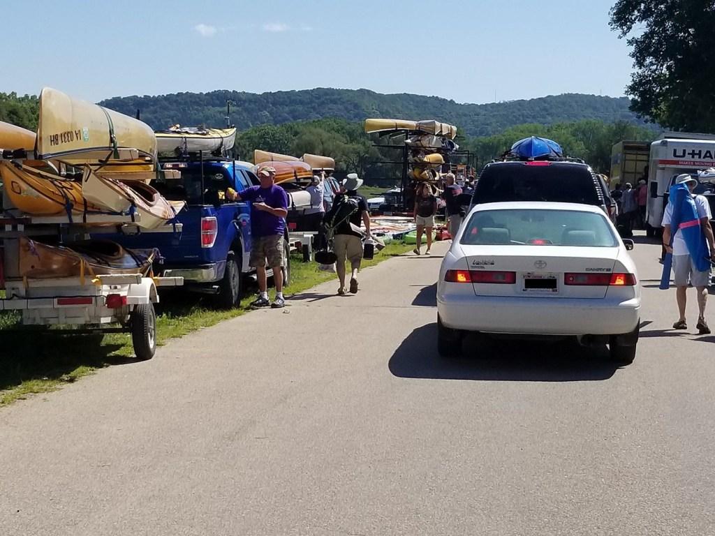 When shuttles are needed for kayaking