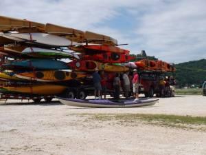 Multi kayaks