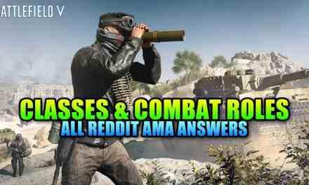 Customization For All – Battlefield 5 Classes & Combat Roles AMA Breakdown