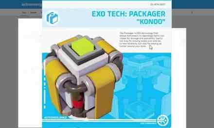 "Astroneer News: New Exo Tech: Packager ""Kondo"""