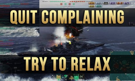 Quit Complaining About Others – World of Warships