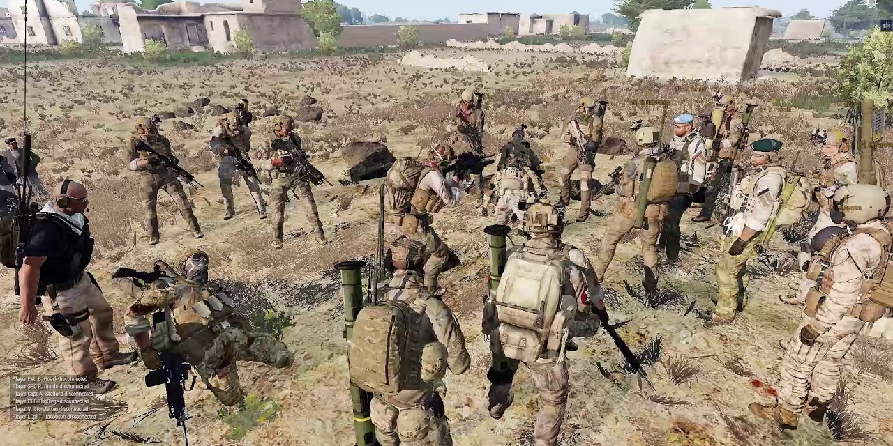 The Mass Disconnect – Arma 3