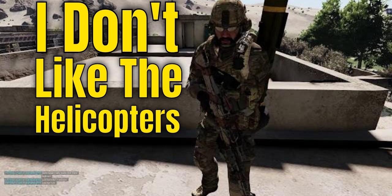 Arma 3 – I Don't Like Choppa – Training Highlights