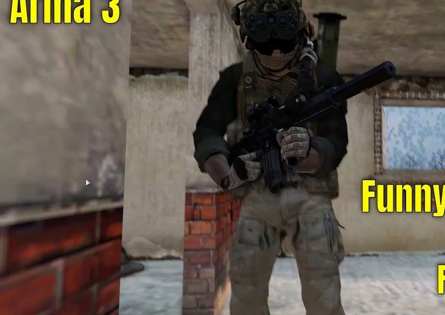 Arma 3 Funny Moments In Training