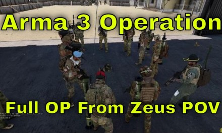 Arma 3 Operation From Start To Finish Zeus View