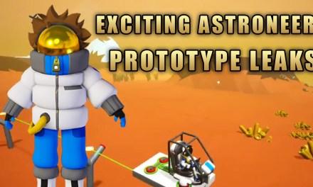 Exciting Astroneer Prototype Leaks