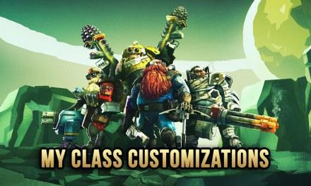 My Class Setups In Deep Rock Galactic June 2021