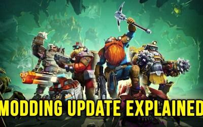 Explaining The Modding Update + My Mods   Deep Rock Galactic