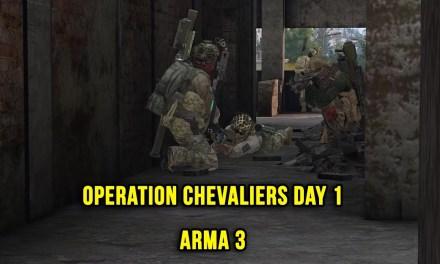 Operation Chevaliers Day 1 – Arma 3 ZEUS POV
