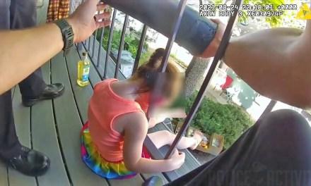 Cops in Colorado Rescue Toddler Head Stuck in Railing