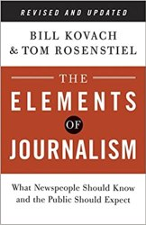 The Elements of Journalism Cover Image
