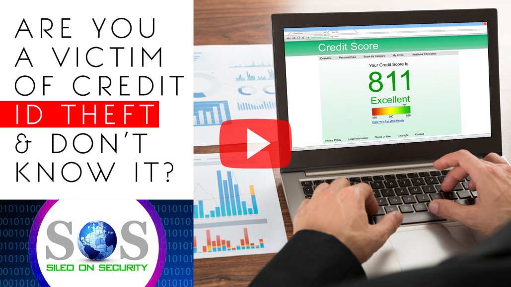Are You a Victim of Credit ID Theft & Don't Know it?