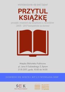 Przytul Książkę w Bytomiu @ pl. Jana III Sobieskiego 3