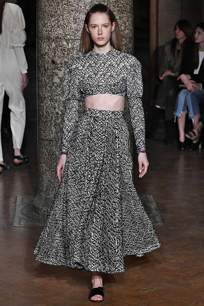 Emilia Wickstead London Womenswear Fall Winter 2017 London February 2017
