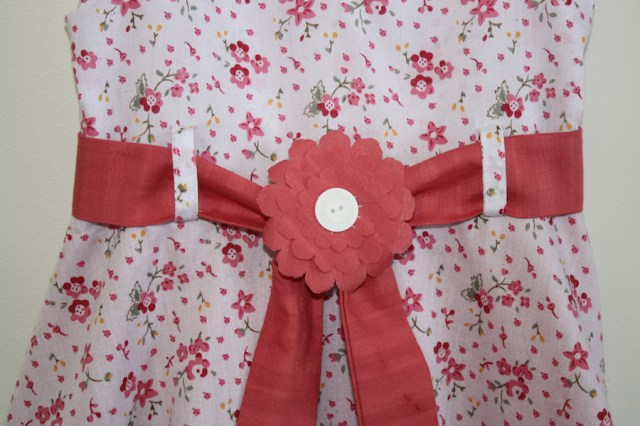 close up belt flower