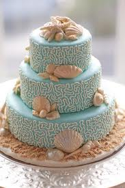 Wedding Cake by the Sea