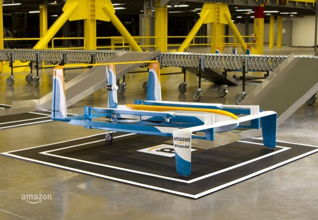 Amazon Prime Air drone, image courtesy of Amazon, Inc.