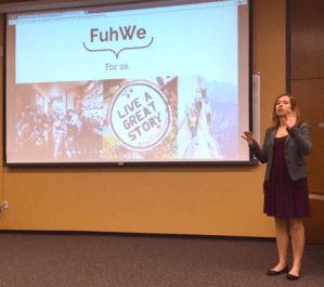 Personalized travel experience platform FuhWe at New Orleans Startup Weekend. Photo by