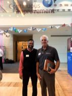 Aclcon Plant Manager with AccuPad's Chris Boyle