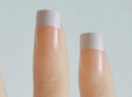 French Finger Nails