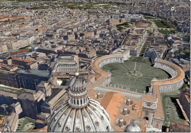 Modern Rome Goes 3D in Google Earth on download bing maps, topographic maps, download business maps, download icons, online maps, download london tube map,