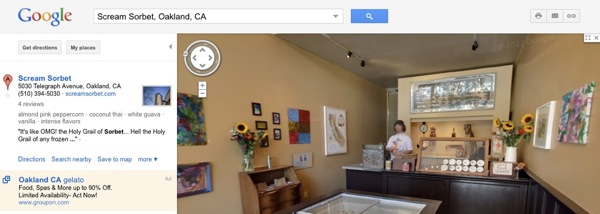 Google Maps indoor