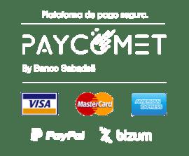 Pago protegido por Paycomet de Banco Sabadell