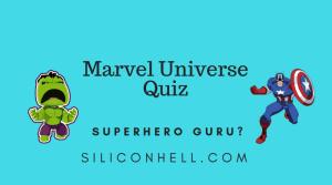 Marvel Superhero Quiz