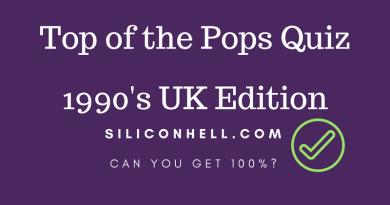 FP 90s top of the Pops quiz
