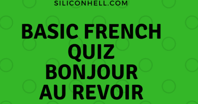 SH Siliconhell basic French quiz v2