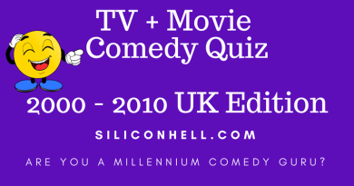 Siliconhell millennium movie and TV comedy quiz