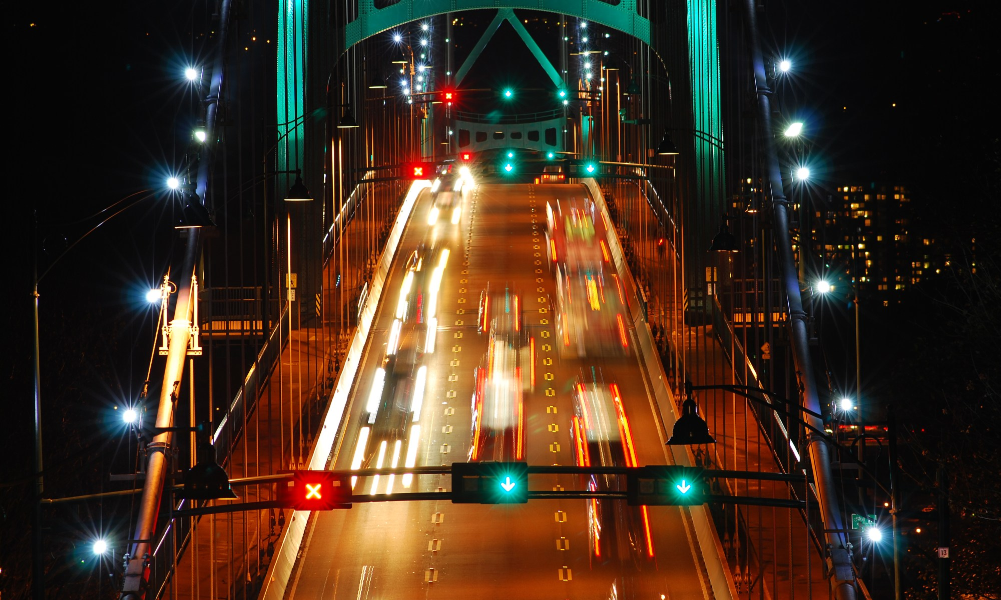 Lions Gate Bridge - Born under a lucky star