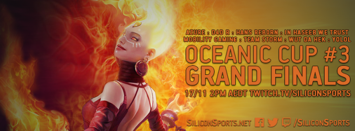 Oceanic Cup Finals this Sunday