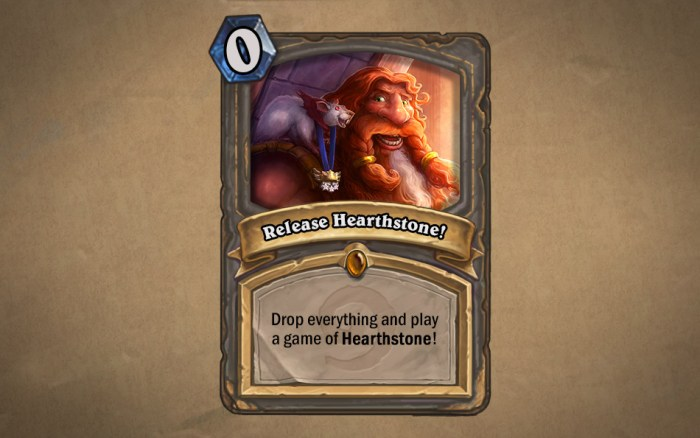 Hearthstone Launched!