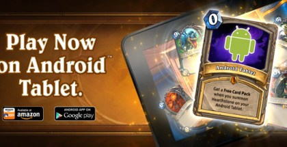 Hearthstone now available on Android!