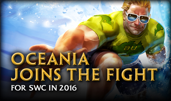 Oceania Joins the Fight in SWC 2016