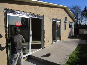AA Window Large Back Yard Installing-redone