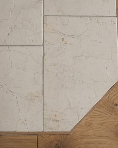 polished antique and flamed natural