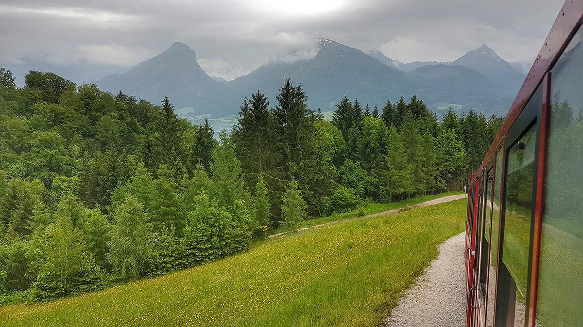 Sili Tours - blog Alpy Schafbergbahnn