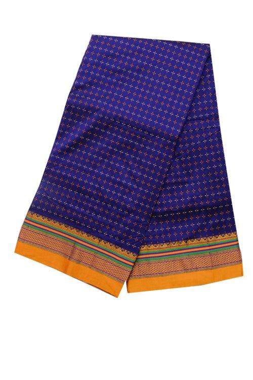 Ilkal Silk by Cotton Chikki Star Saree