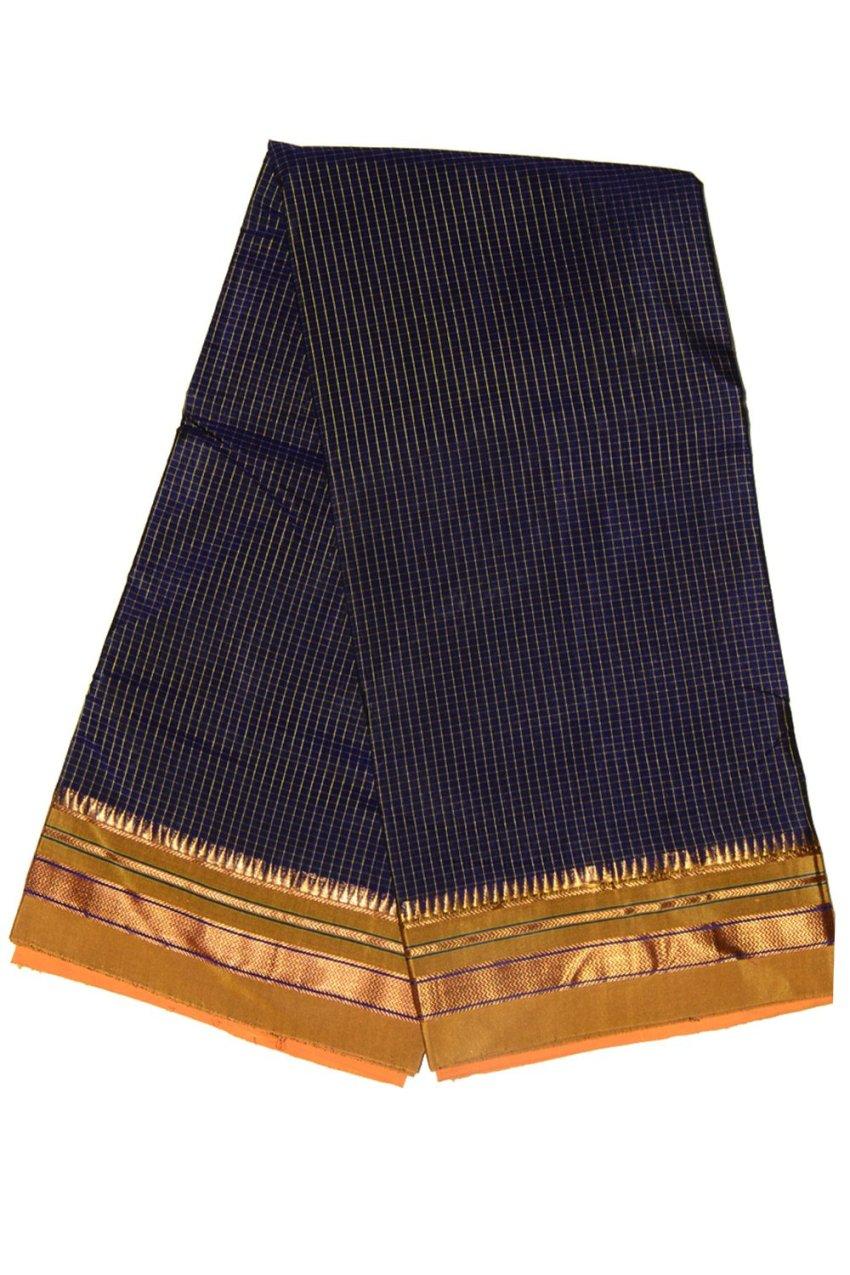 Ilkal Silk by Cotton Saree