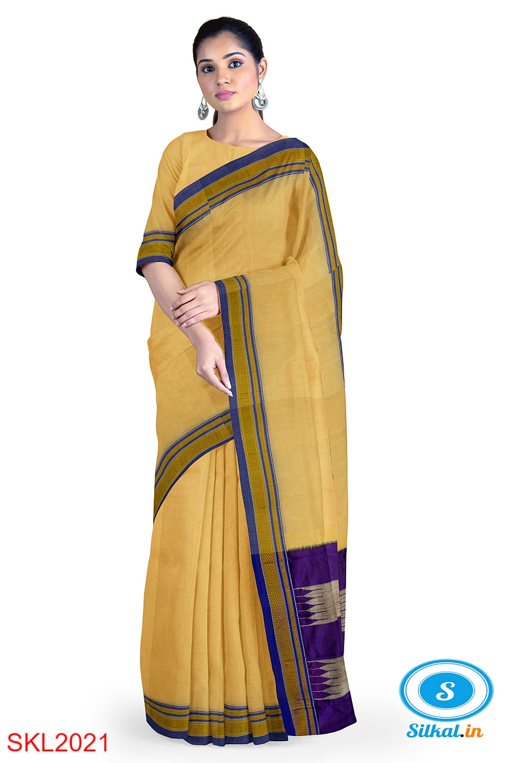 ILKAL HANDLOOM SILK BY MASRISE COTTON SAREE