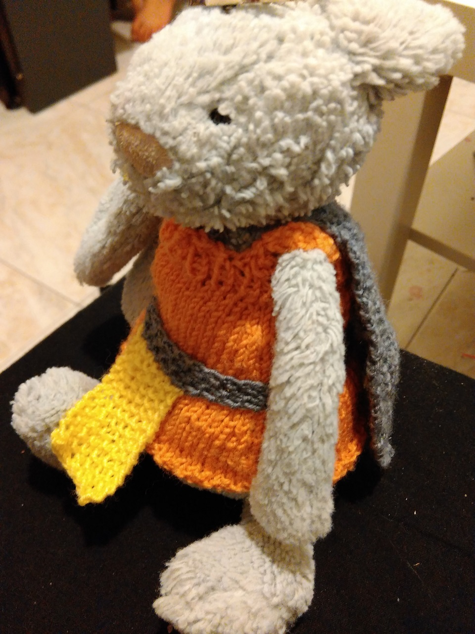 Knitted toy clothes