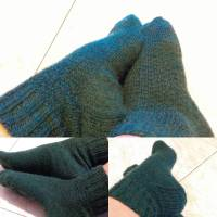Malachite socks
