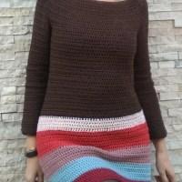 Simple crochet dress